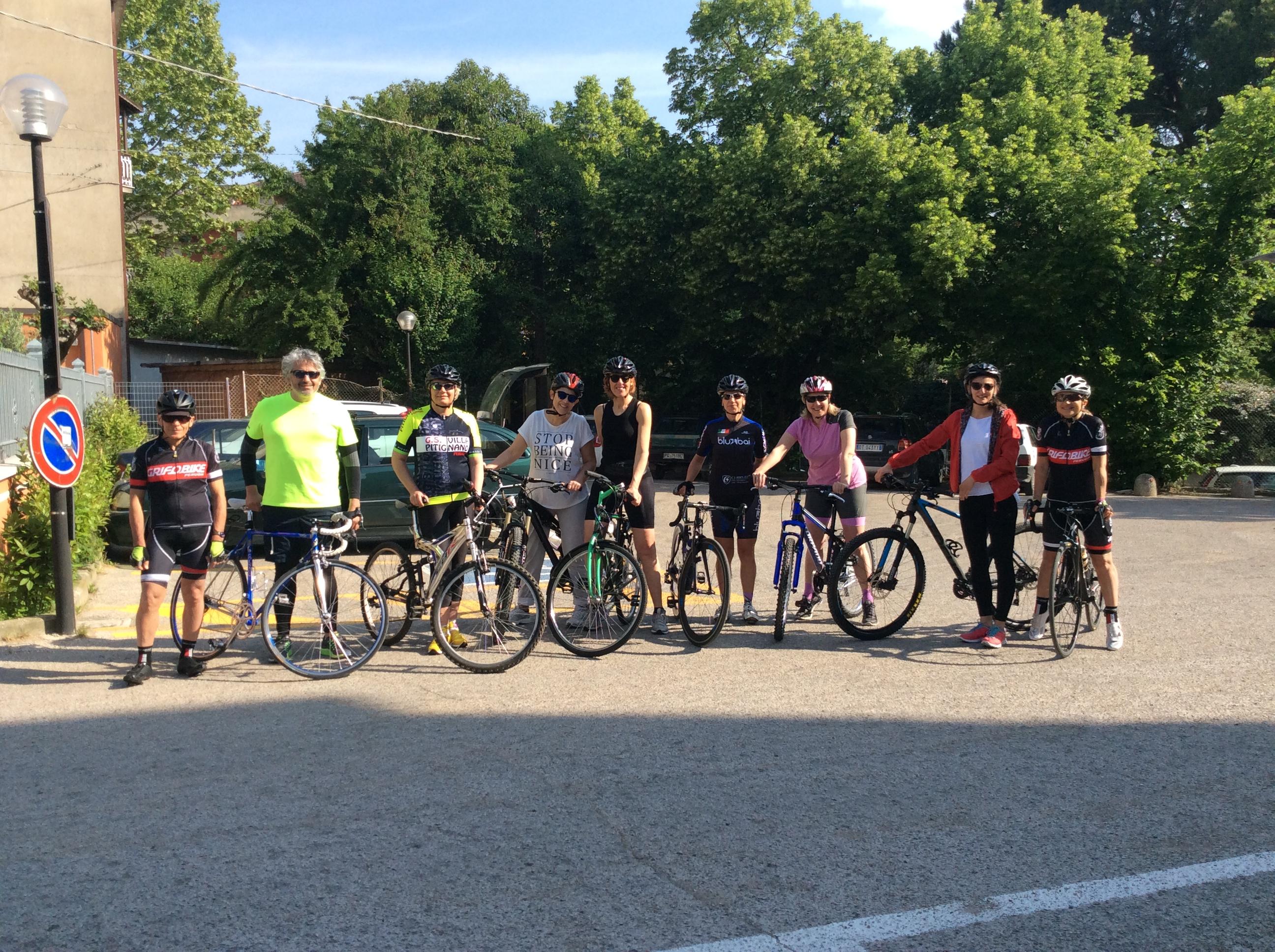 Imparare ad andare in bicicletta a Perugia, il nuovo Just Ladies