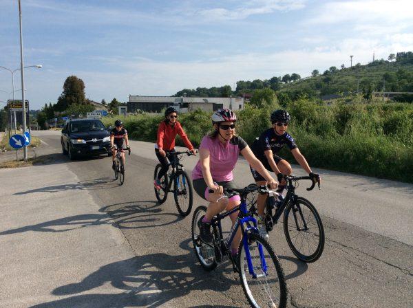 lezioni di bicicletta a Perugia - just ladies