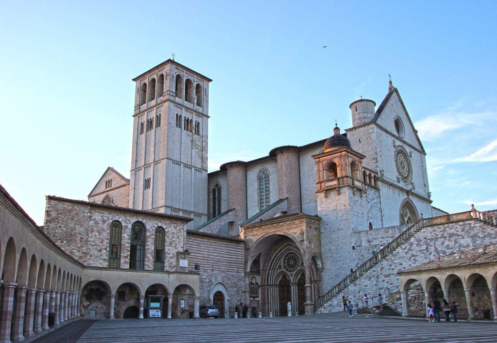 La Basilica di San Francesco di assisi